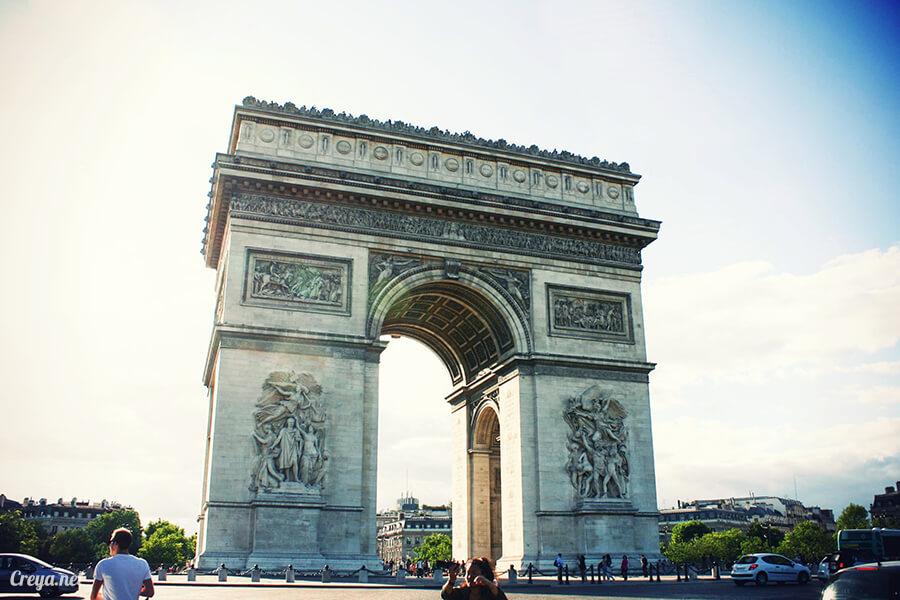 2016.8.28 | 看我的歐行腿| 法國巴黎凱旋門、香榭麗舍間的歷史之道 18