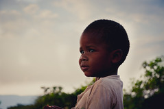 Cute Young African Boy