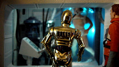 """Echo Base diorama - C3PO and rebel pilot outside medical room on Hoth • <a style=""""font-size:0.8em;"""" href=""""http://www.flickr.com/photos/86825788@N06/8361363195/"""" target=""""_blank"""">View on Flickr</a>"""