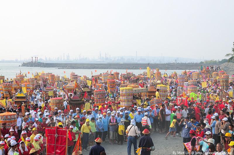 【屏東】2012壬辰正科東港迎王平安祭典 – 請水
