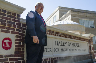 Haley Barbour Center for Manufacturing Excellence Dedication Ceremony