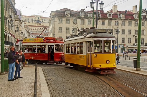 Lisbon Tram Jam