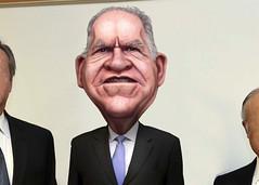 John Brennan - Caricature