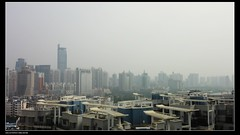 Serious air pollution