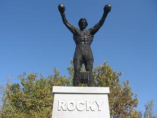 Rocky Balboa spomenik u Žitištu 03