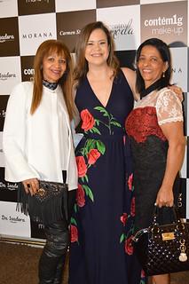 Catarina, Érika e Marilene