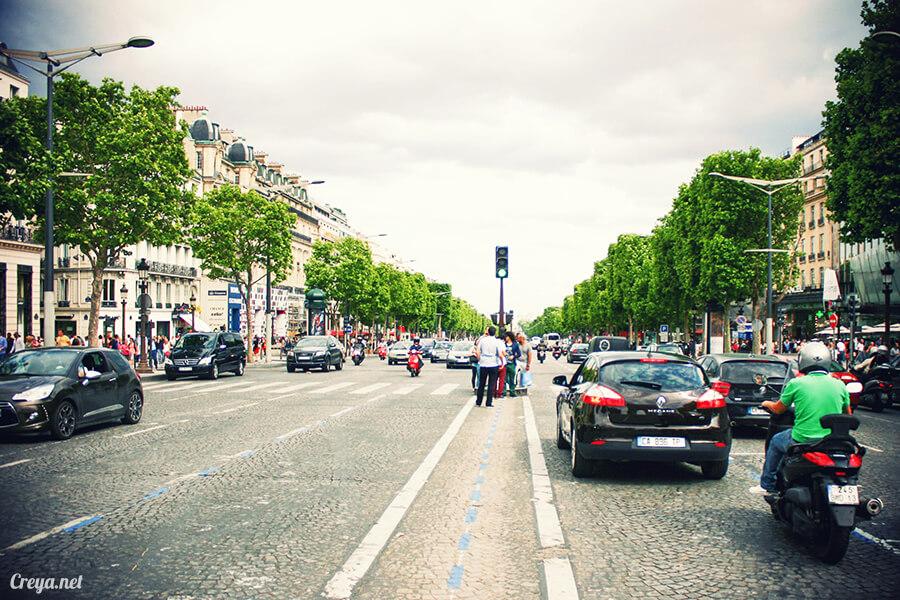 2016.8.28 | 看我的歐行腿| 法國巴黎凱旋門、香榭麗舍間的歷史之道 02