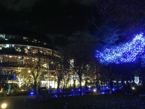 Christmas Night Illumination at Tokyo Midtown