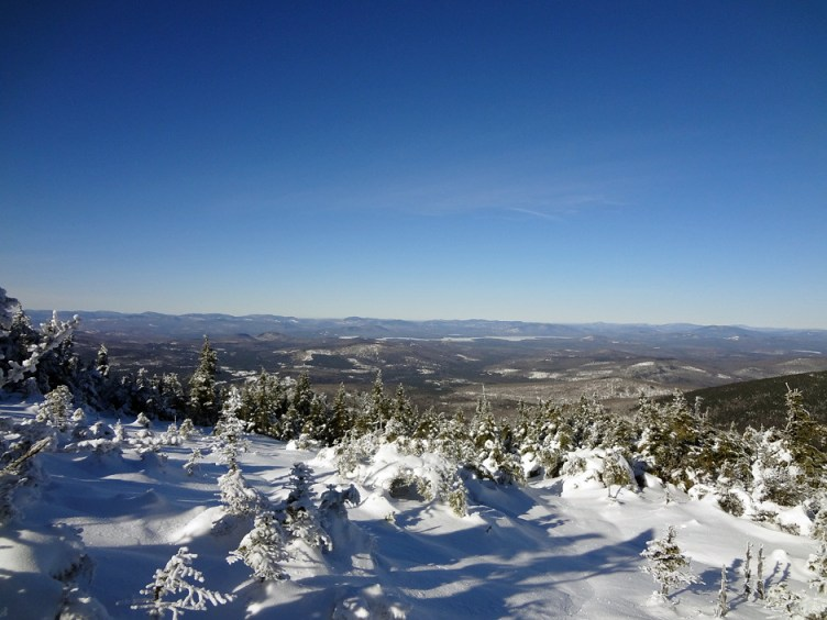 North View from Baldpate Mountain