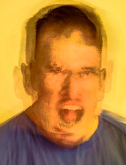 self portrait. Im not an angry person! Lots of...