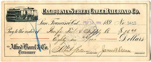 1895 San Francisco California Street Cable Rai...