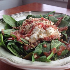 Gluten-Free Thursday: Ricotta Pecan Spinach Salad