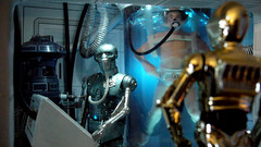 """Echo Base diorama - C3PO outside medical room in Echo Base on Hoth • <a style=""""font-size:0.8em;"""" href=""""http://www.flickr.com/photos/86825788@N06/8361363477/"""" target=""""_blank"""">View on Flickr</a>"""