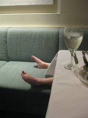 Evi Doesn't Make It Through the Captain's  Dinner