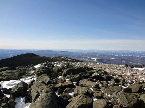 Mt. Moosilauke Summit View South Over the Appalachian Trail