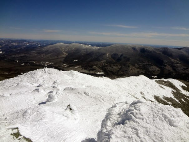 Mt. Madison Osgood Ridge in Winter on the Appalachian Trail