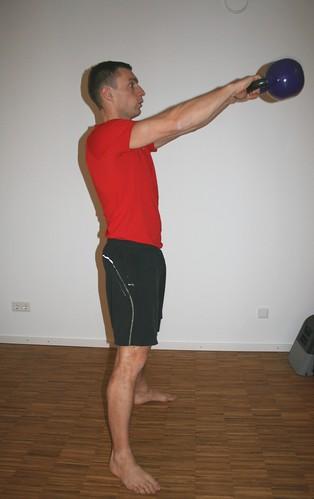 Kettlebell Training Tabata Kettlebell Swing Po...