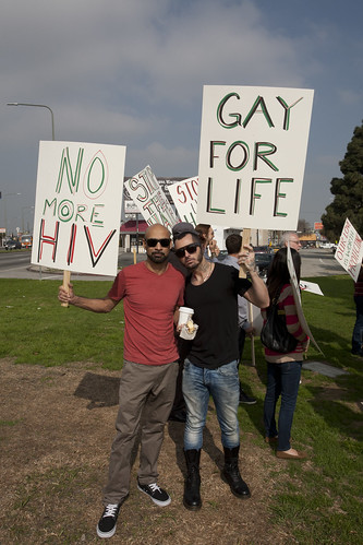X Homophobia Protest and Press Conference (2/7/13)