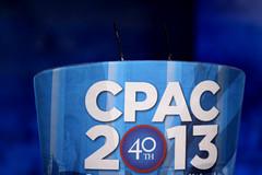 CPAC podium