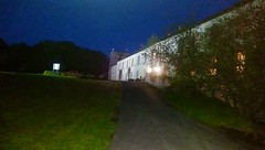 Blake Manor at night
