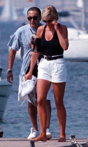 Diana e Dodi al Fayed