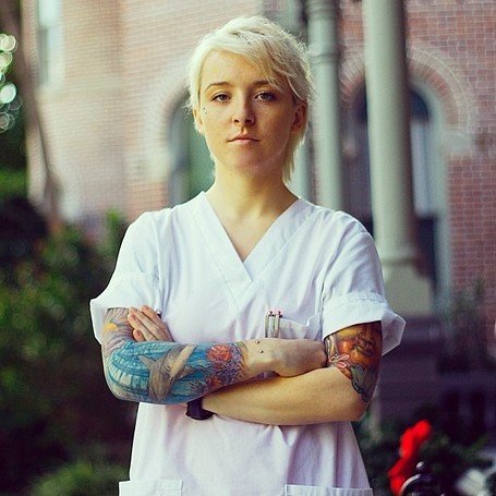 Tattooed Nurse by Support Tattoos and Piercings at Work, on Flickr