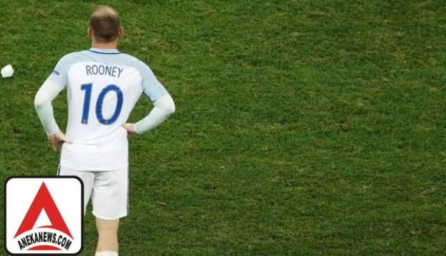 #Bola: Usai Piala Dunia2018, Rooney Pensiun dari Timnas Inggris