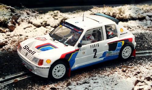 OSC Peugeot 205 T16 rid