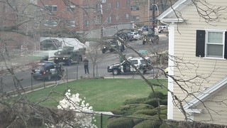 Watertown, MA - search for alleged marathon bo...