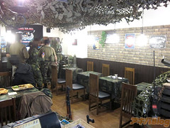 "Military Cafe 6 • <a style=""font-size:0.8em;"" href=""http://www.flickr.com/photos/66379360@N02/8618216236/"" target=""_blank"">View on Flickr</a>"