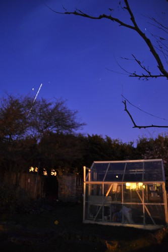 ISS Disappears from the East
