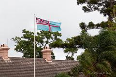 Queensland Separation Flag flying over Newstea...