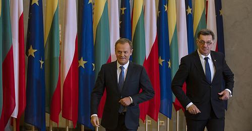 Spotkanie Donalda Tuska z Algirdasem Butkevičiusem