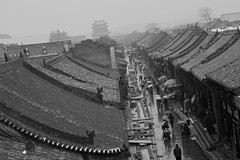 "Pingyao rainy street • <a style=""font-size:0.8em;"" href=""http://www.flickr.com/photos/63389963@N08/8664767272/"" target=""_blank"">View on Flickr</a>"
