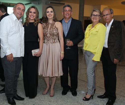Marco Antônio e Ana Paula, Maria Angélica e Ricardo, Marlene e Benedito