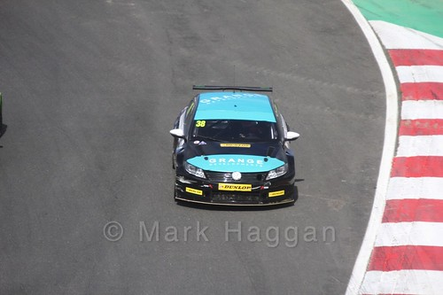 Mark Howard during the BTCC Brands Hatch Finale Weekend October 2016
