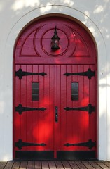 Darien Church Doors