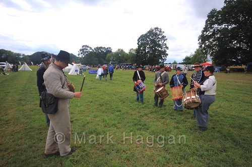 The Fife and Drums of the US Civil War Reenactment Society at the Shakerstone Festival 2016