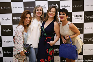 Bruna, Zilma Assef, Érika e Nathalia