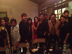 Actress Sanjjanaa with Telugu Industry Stars (3)
