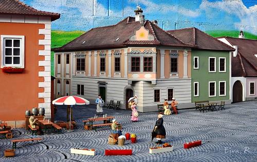 Mini Old Town  mini Old Town / Mini óváros makett
