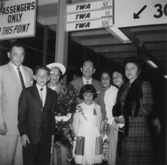 Flores Family at the Airport, 1961