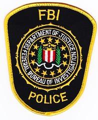 FED - Federal Bureau of Investigation Police