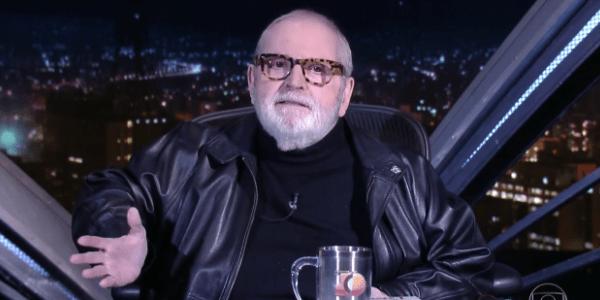 """Jô Soares ignora concorrência e dá """"bênção"""" à estreia de Porchat na Record"""