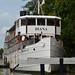 Diana at Söderköping lock
