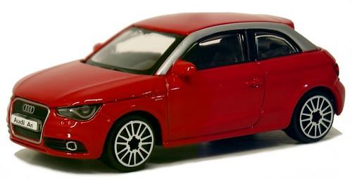 Burago Audi A1 1-044