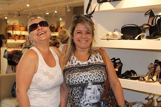 Lúcia Werneck e Marizete Santos
