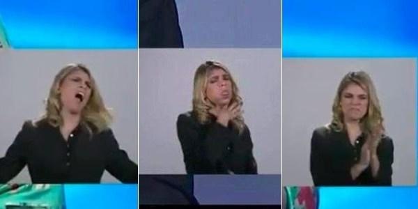 """""""Não são caretas, são expressões"""", diz tradutora que brilhou em debate"""