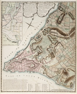 Map of New York city (1775)