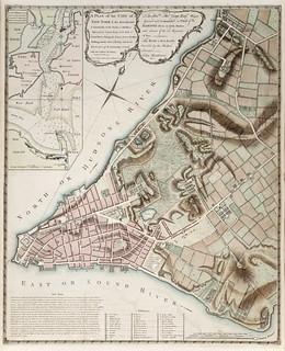 Map of New York city (1775)